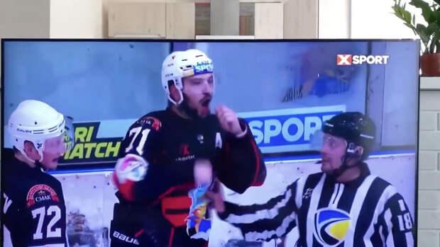 Игрок НХЛ призвал наказать украинского хоккеиста за расистский жест