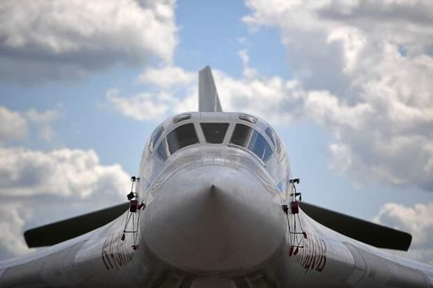 Модернизированный Ту-160М впервые поднялся в небо с новыми двигателями