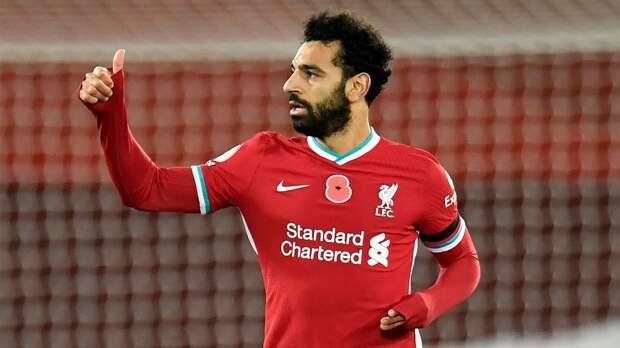 Салах 4-й сезон подряд забивает больше 20 голов за «Ливерпуль»