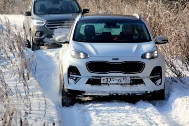 Тест Ford Kuga — Kia Sportage: крепкий орешек