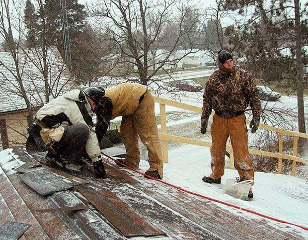 Какие строительные работы можно делать в зимнее время