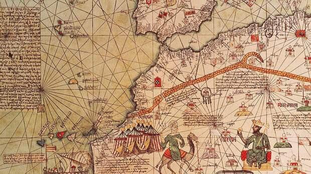 Благодаря каталонским картографам Европа в XIV веке узнала о богатой золотом империи Мали и ее правителе