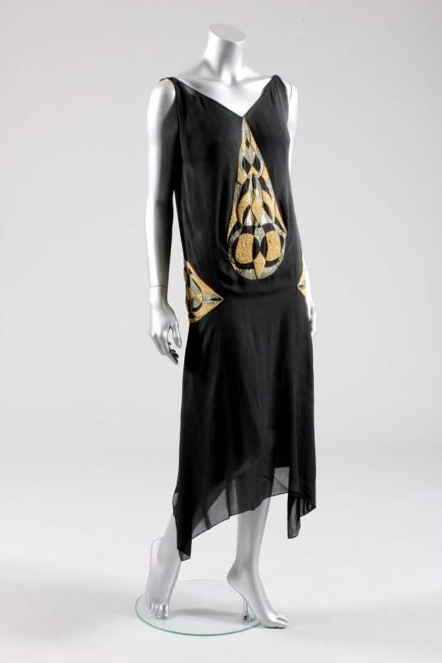 Платье Вионне. Ар деко. #1920е #ретро_фестиваль