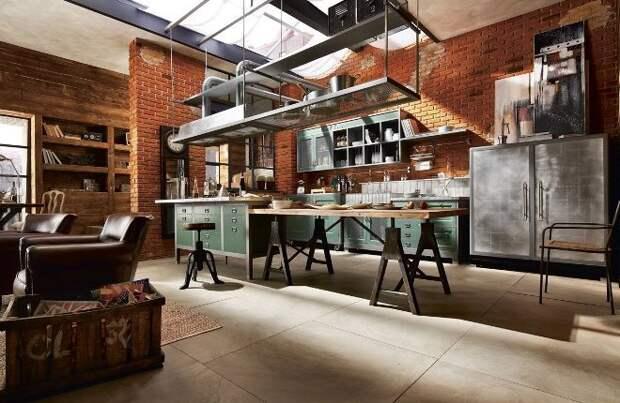 Мебель в стиле лофт: практичная элегантность с индустриальным характером (83 фото)