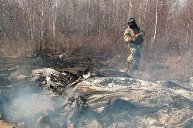 Названы две версии крушение самолета в Хабаровском крае