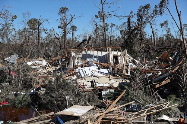 На Флориду обрушился ураган Майкл