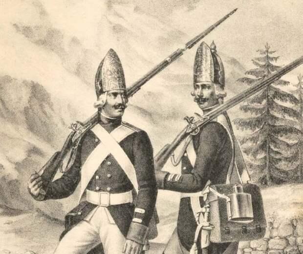 Киевский гренадерский полк,1797-1801 гг.
