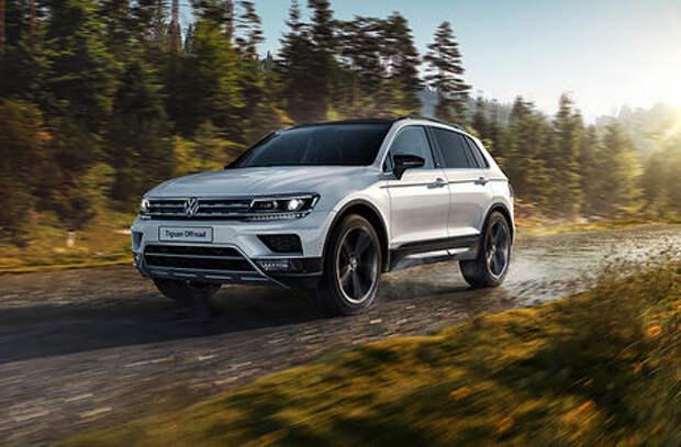 Самый «внедорожный» VW Tiguan: российские цены и комплектации