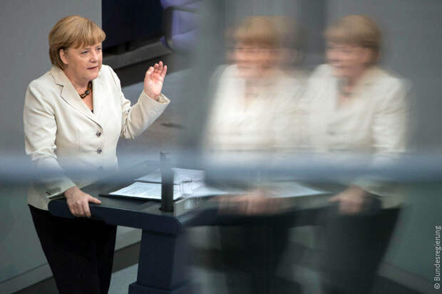 Меркель отметила намерение Берлина сотрудничать с Москвой