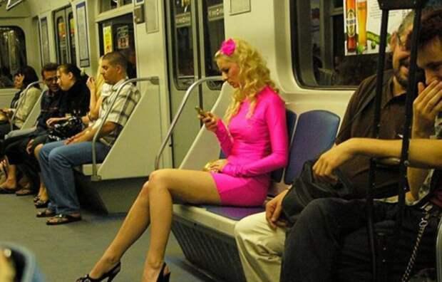 Суровое метро тоже может сиять яркими красками