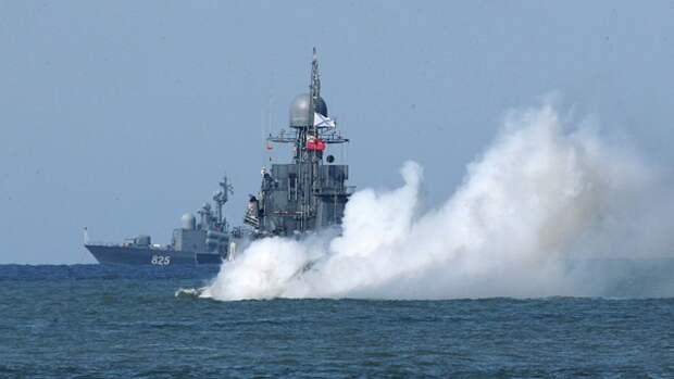 ВМФ Российской Федерации уничтожили условного противника в Балтийском море. Источник изображения:
