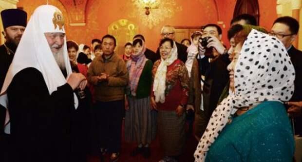 В Москве прошел молебен о спасении от коронавируса