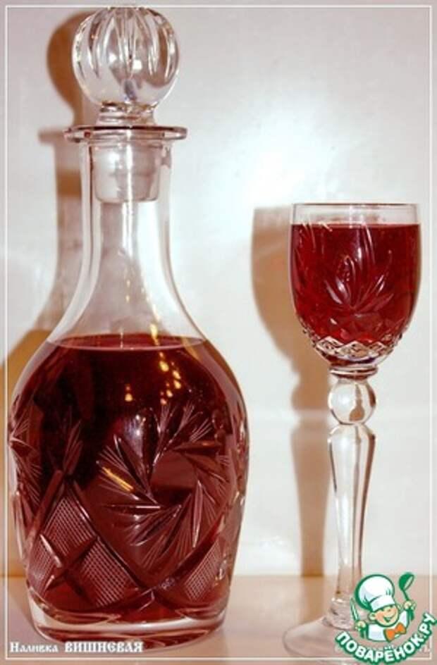 Спиртные напитки. Наливка вишневая