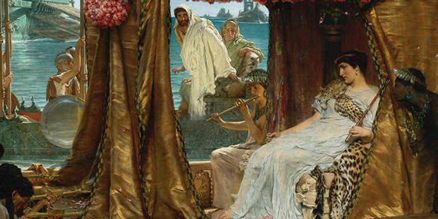 Клеопатра рассчитывала стать супругой будущего властелина мира.