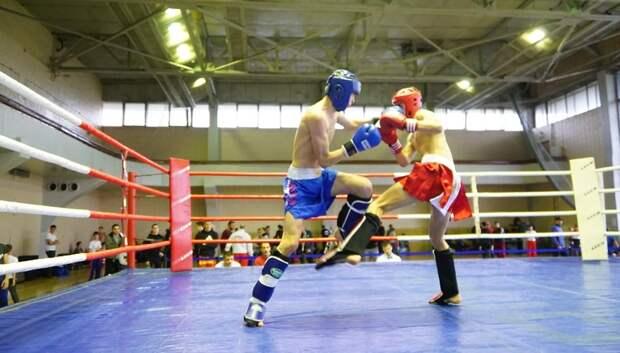 Более 200 спортсменов приняли участие в турнире по кикбоксингу в Подольске