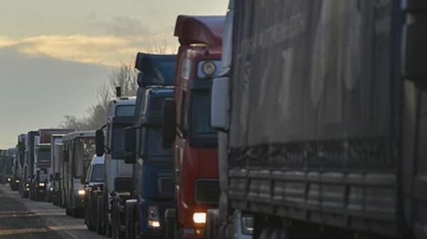 Объездную дорогу Самары закрыли для тяжелых грузовиков почти на 5 лет