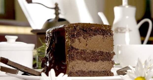 быстрый и простой торт на кефире