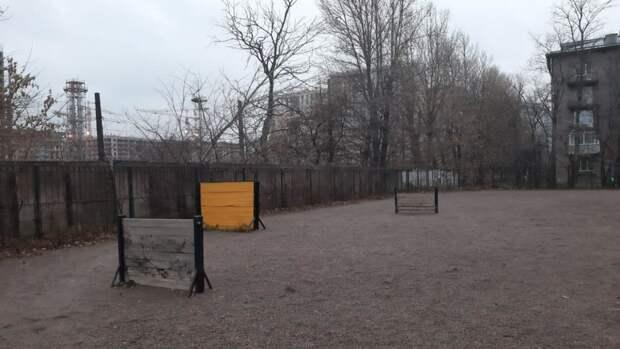 Петербургские собаки с нетерпением ждут новые площадки для прогулок