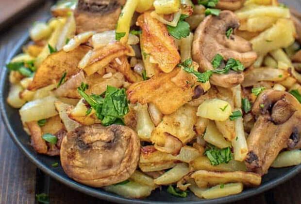 Идеальная жареная картошка