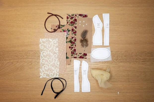 Мини-манекен: очаровательная игольница своими руками