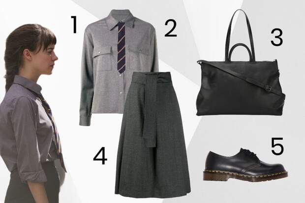 Куртка-косуха, галстук и лаконичные платья: изучаем стиль главной героини сериала «Нормальные люди»