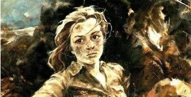 """""""Героиня Сталинградской битвы Наташа Качуевская"""""""