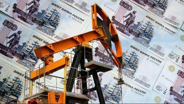 Рубль нефть доходы