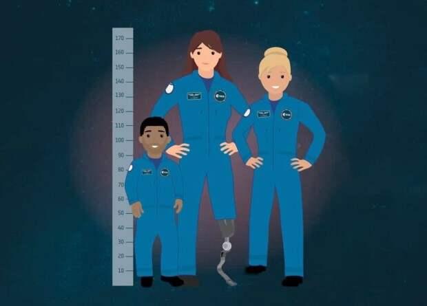ESA впервые допустит к отбору в отряд астронавтов людей с инвалидностью