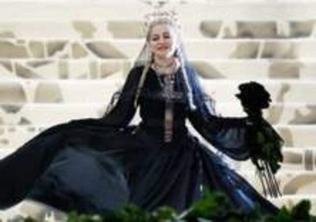 Мадонну высмеяли за самовлюбленность