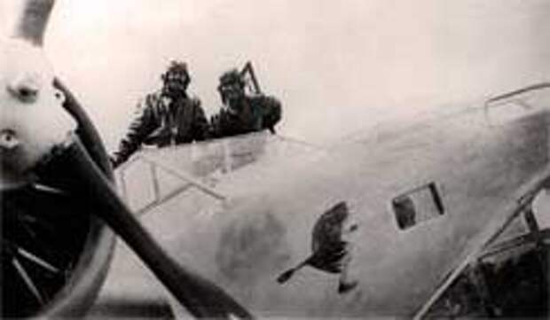 Венгерский самолет