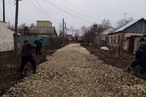 В Тамбове восстанавливают благоустройство после ремонтных работ