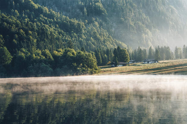 Misty Lake by Marvin Diehl⭐ on 500px.com