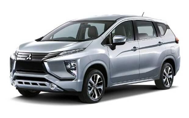 Новый кроссвэн Mitsubishi: 205 мм над землей