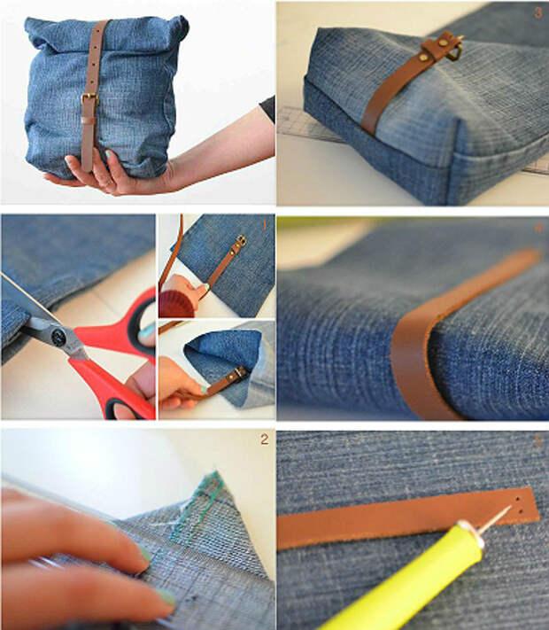 20 суперпрактичных идей из старых джинсов. А вы хотели выбросить!