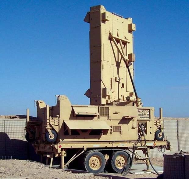 РЛС контрбатарейной борьбы армии США