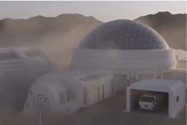 Китай построит прототип марсианской базы на Земле