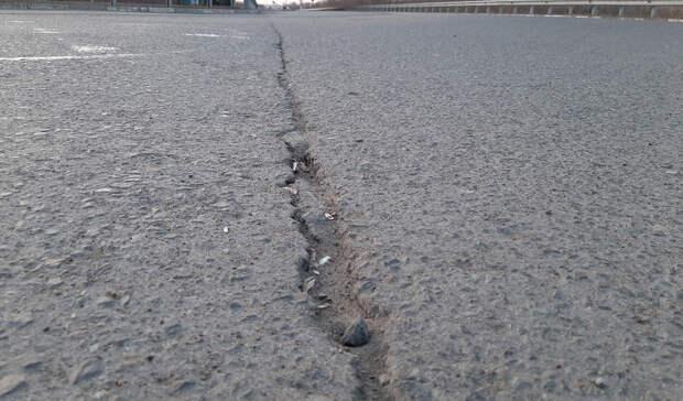 Трещины неизбежны. Как пережили зиму дороги Омска