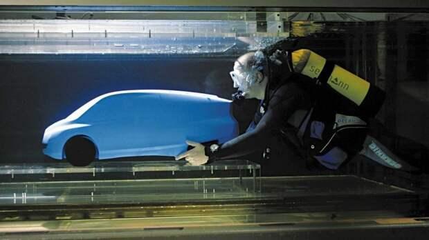 Экспериментальный концептуальный автомобиль Mercedes-Benz Bionic Mercedes Bionic, mercedes, mercedes-benz, авто, автодизайн, концепт-кар