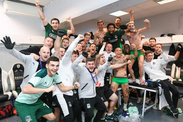 «Краснодар» вышел в групповой раунд Лиги Чемпионов УЕФА