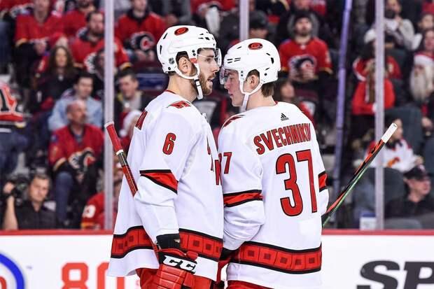 Свечников забил «Детройту» и набрал 100-е очко в НХЛ