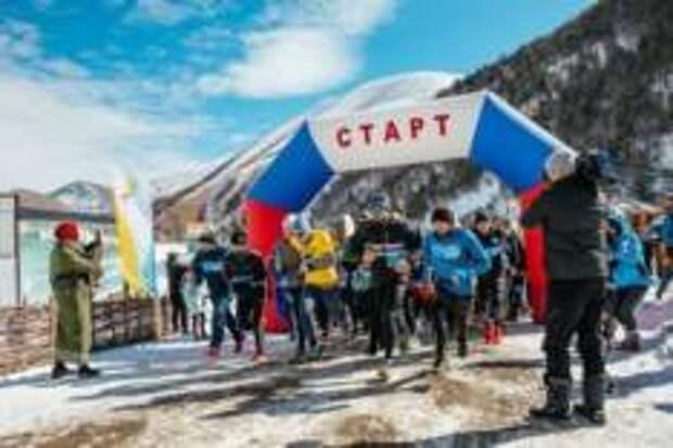 «Ледовый марафон» прошел в Чеченской Республике