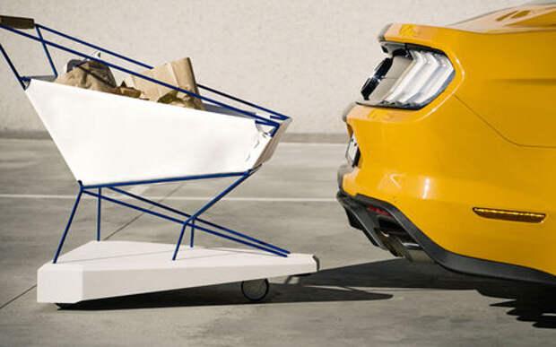 Форд заехал в супермаркеты: теперь он изобретает тележки!