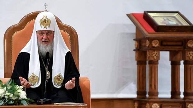 Патриарх Кирилл заявил о заказе на разрушение единства православия
