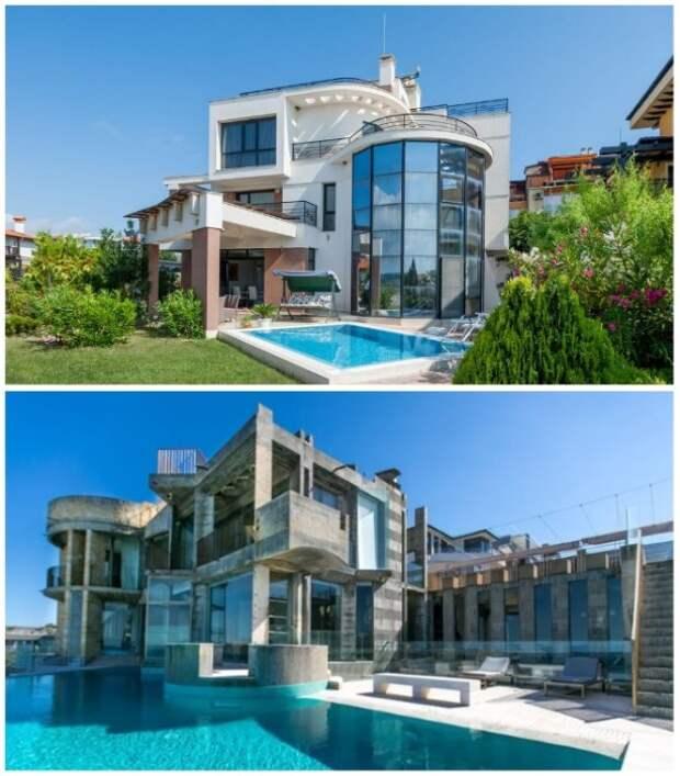 Дом близнецов сможет удивить необычной архитектурой и обилием стеклянных площадей.   Фото: touristam.com.