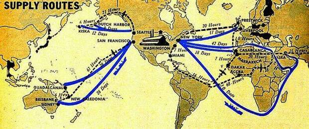 Осень 1941-го. Персидский коридор для ленд-лиза
