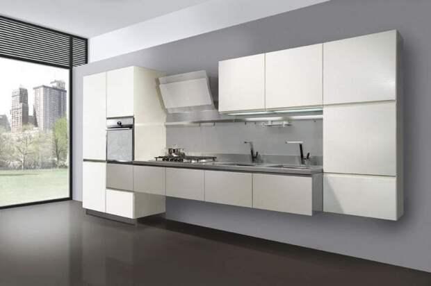 Подвесная кухня без ножек: стильные новшества в современном интерьере