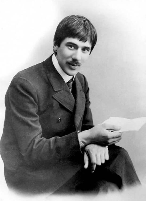 Корней Чуковский в молодости. / Фото: www.interesnyefakty.org