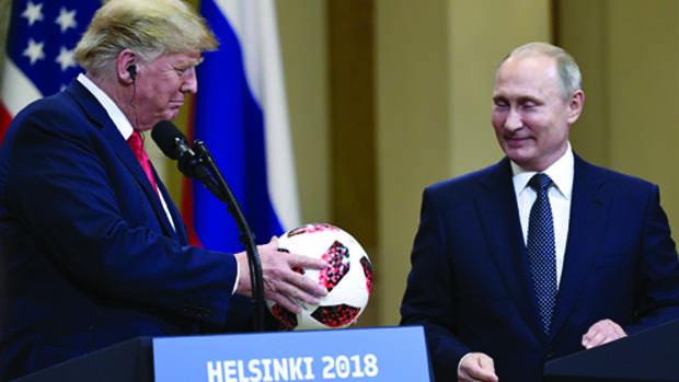 Саммит Путин — Трамп: шаги навстречу