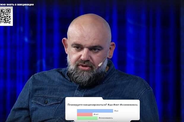 Денис Проценко в эфире общества «Знание» рассказал, чем третья волна пандемии отличается от двух предыдущих