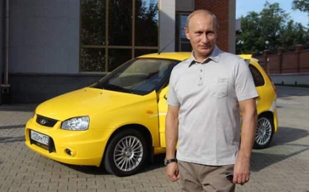 Автомобили для Владимира Путина